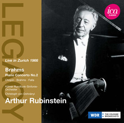 Rubinstein: Live in Zurich 1966