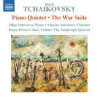 Boris Tchaikovsky: Piano Quintet & The War Suite