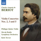 Beriot, C.-A. De: Violin Concertos Nos. 2, 3 and 5