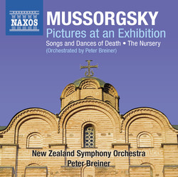 Mussorgsky: Pictures at an Exhibition - Songs & Dances of Death - The Nursery (Orchestrated by Peter Breiner)
