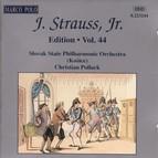 Strauss II, J.: Edition - Vol. 44