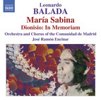 Balada: Maria Sabina / Dionisio - In Memoriam