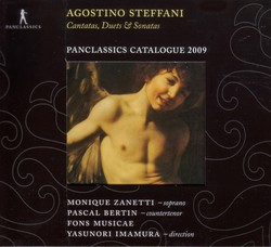 Steffani, A.: Cantatas, Duets and Sonatas