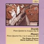 Dvorak: Piano Quintet - Mozart: Piano Quartet No. 1