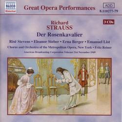 Strauss, R.: Rosenkavalier (Der) (Stevens, Steber / Metropolitan Opera / Reiner) (1949)