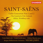 Saint-Saëns: Cello Concertos, Le carnaval des animaux, Africa & Wedding Cake
