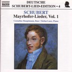 Schubert: Lied Edition  4 - Mayrhofer, Vol.  1