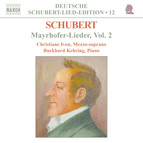 Schubert: Lied Edition 12 - Mayrhofer, Vol.  2
