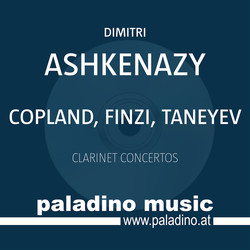 Finzi, Copland & Taneyev: Clarinet Concertos
