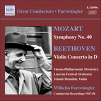 Mozart: Symphony No. 40 / Beethoven: Violin Concerto