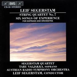Segerstam - String Quartet