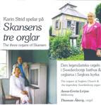 Skansens tre orglar