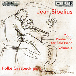Sibelius - Youth Production for Solo Piano, Vol.1