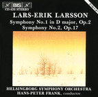 Larsson - Symphonies No.1 and No.2