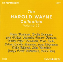 The Harold Wayne Collection, Vol. 35 (1900-1904)
