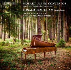 Mozart - Piano Concertos Nos 1, 2, 3 & 4