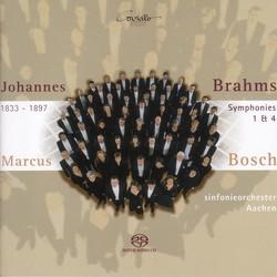 Brahms, J.: Symphonies Nos. 1 and 4