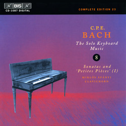 C.P.E. Bach: Solo Keyboard Music, Vol. 8