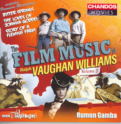 Vaughan Williams: Film Music of Ralph Vaughan Williams, Vol. 3