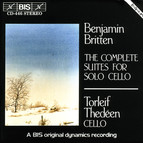 Britten - The Complete Suites for Solo Cello