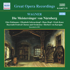 Wagner, R.: Meistersinger Von Nurnberg (Die) (Karajan) (1951)