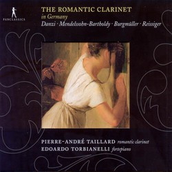 Danzi, F.: Clarinet Sonata in B Flat Major / Mendelssohn, Felix: Clarinet Sonata in E Flat Major (The Romantic Clarinet)