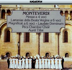 Monteverdi: Messa A 4 Voci / Laetaniae Della Beata Vergine / Magnificat (Ii) / Laudate Dominum