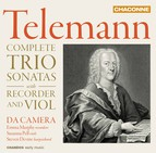 Telemann: Complete Trio Sonatas with Recorder & Viol
