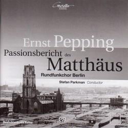Pepping, E.: Passionsbericht Des Matthaus