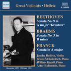 Beethoven / Brahms / Franck: Violin Sonatas (Heifetz) (1937-1951)