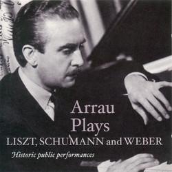 Liszt, F.: Piano Concerto No. 2 / Schumann, R.: Piano Concerto / Weber, C.M. Von: Konzertstuck (Arrau) (1943, 1947, 1951)