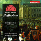 Hoffmeister: Symphonies in G Major / E Major / D Major