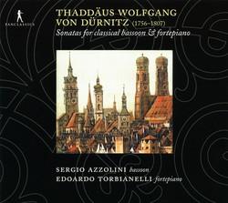 Dürnitz: Sonatas for Classical Bassoon and Fortepiano