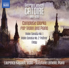 Catoire: Complete Works for Violin & Piano