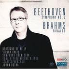 Beethoven: Symphony No. 2 - Brahms: Rinaldo