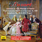 Mozart: Overture to The Marriage of Figaro, Piano Concerto No. 14 & Symphony No. 38