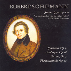 Schumann: Carnaval / Arabeske in C Major / Toccata in C Major / Fantasiestucke