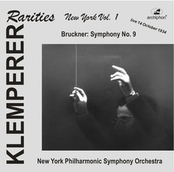Klemperer Rarities: New York, Vol. 1 (1934)