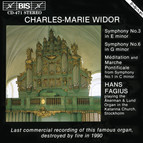 Widor - Organ Symphonies No.3, 6 and 1