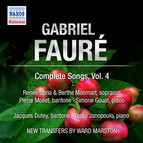 Faure: Complete Songs, Vol. 4