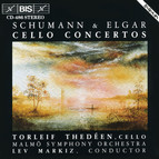 Cello Concertos by Schumann and Elgar