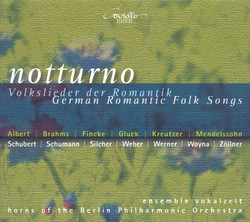 Vocal Music (German) - Weber, C.M. Von / Schumann, R. / Mendelssohn, Felix / Schubert, F. / Silcher, F. / Gluck, F.