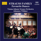 Strauss Family: Favourite Dances