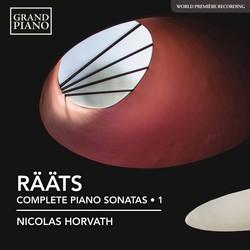 Rääts: Complete Piano Sonatas, Vol. 1
