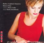 Copland: 2 Pieces for String Orchestra / Clarinet Concerto / Ginastera: Concerto Per Cordes