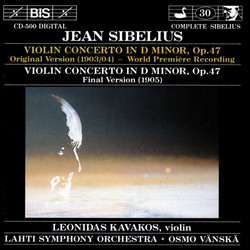 Sibelius - Violin Concerto in D minor, Op.47