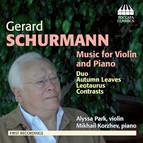 Schurmann: Music for Violin & Piano