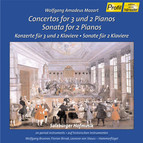 Mozart: Concertos for 3 and 2 Pianos / Sonata for 2 Pianos