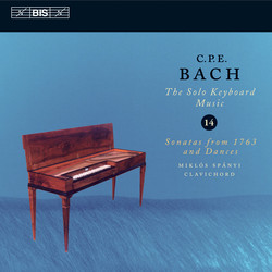 C.P.E. Bach: Solo Keyboard Music, Vol.14