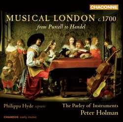 Musical London c. 1700 - from Purcell to Handel